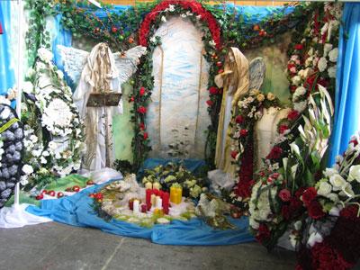 похоронная выставка