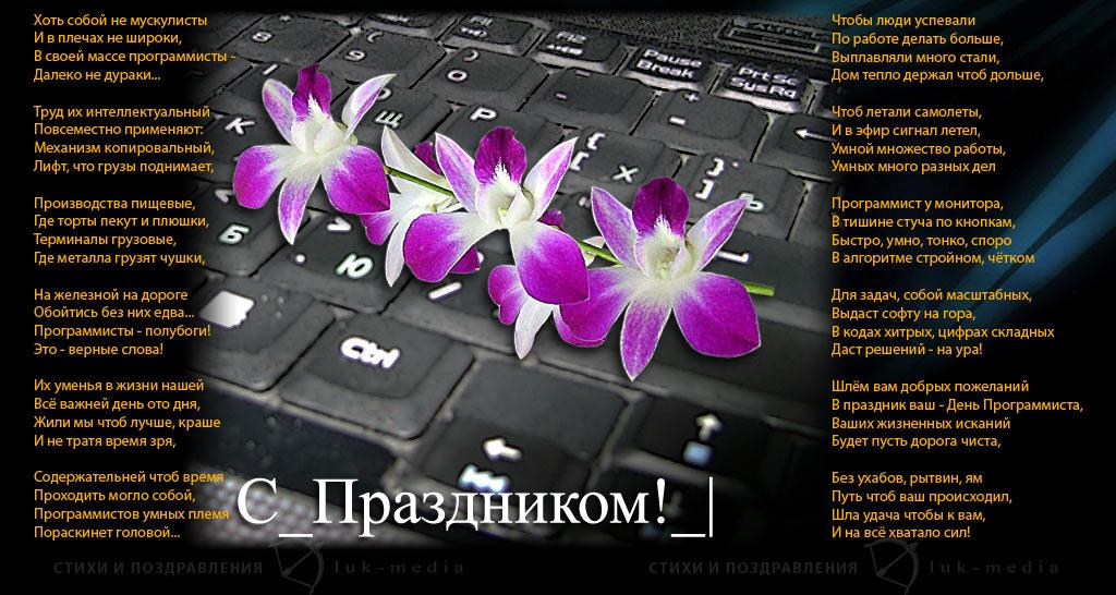 Поздравление с днем рождения женщине программисту 1с